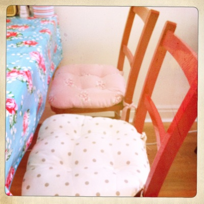 Pink Dining Room Chair Cushions DINING ROOM