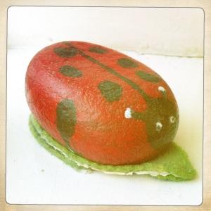 Ladybird Paperweight