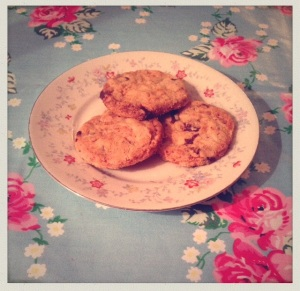 Spiced Orange and Chocolate Biscuits