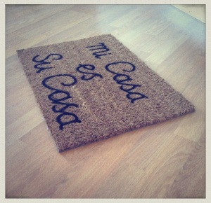 Welcome Mat 1